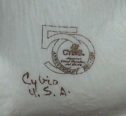 Cybis 50th anniversary stamp