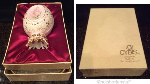 Cybis egg in presentation box