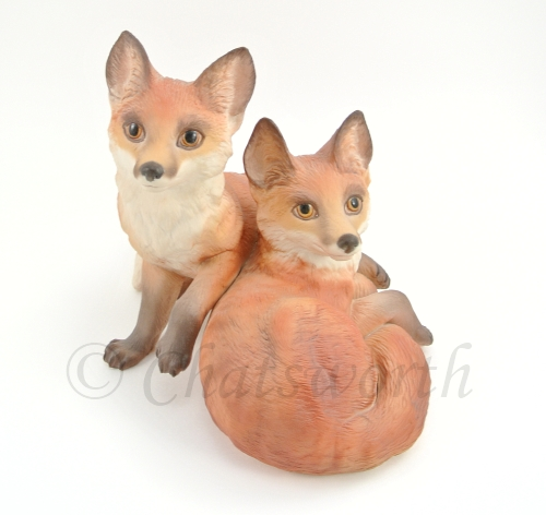 FOXES CHATSWORTH AND SLOANE by Cybis