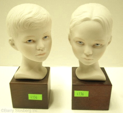 Hall of Fame edition HEAD OF BOY and HEAD OF GIRL ca 1991 by Cybis