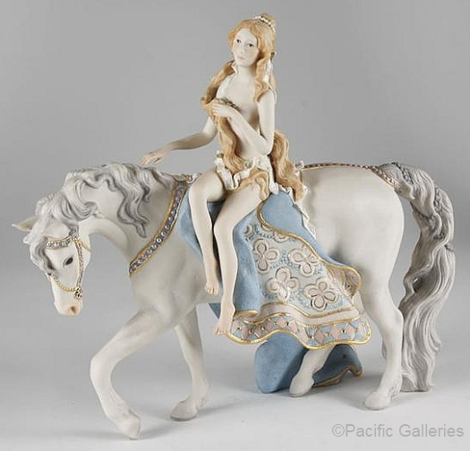 LADY GODIVA by Cybis in standard colors