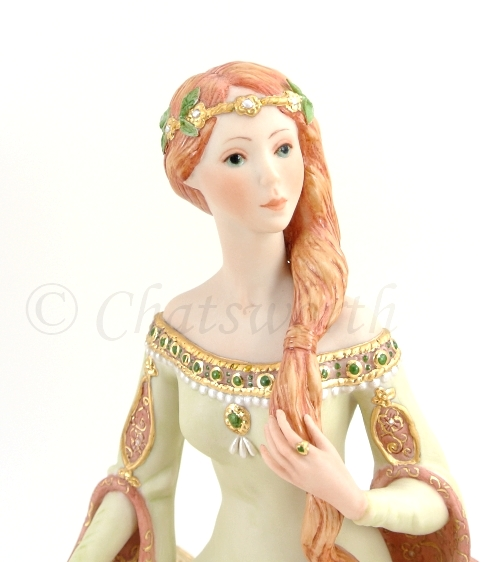 Queen Guinevere detail