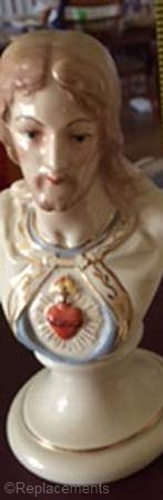 Sacred Heart of Jesus bust without rose