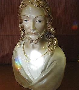 1950s unidentified JESUS BUST