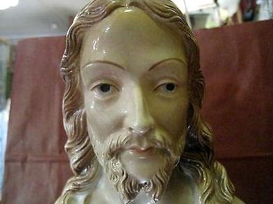 Jesus bust detail