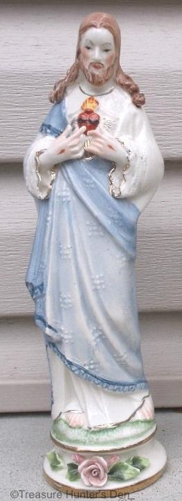 SACRED HEART OF JESUS full figure by Cybis 1950s