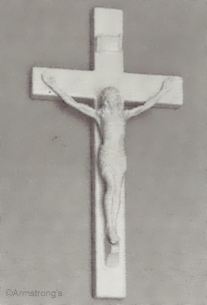 crucifix CORPUS CHRISTI by Cybis