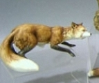 1960s FOX brown with white tail by Cybis