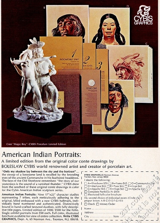 1971 print ad for Folio One