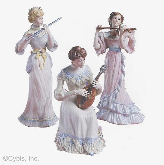 3 muscians FELICIA MARGUERITE VANESSA by Cybis