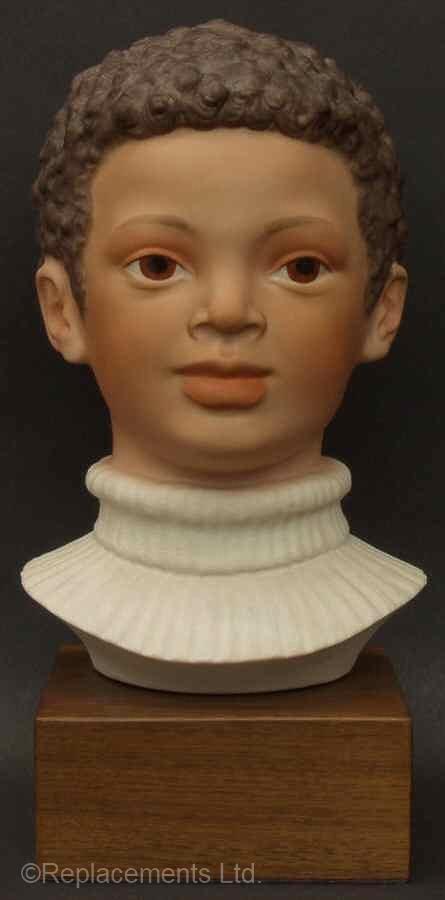 African American boy head JASON by Cybis