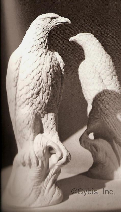 AMERICAN EAGLE PAIR by Cybis