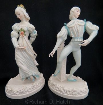 Ballet ENCHANTED PRINCESS AURORA and ENAMOURED PRINCE FLORIMUND by Cybis