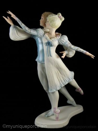 Ballet Sculpture ROMEO AND JULIET by Cybis