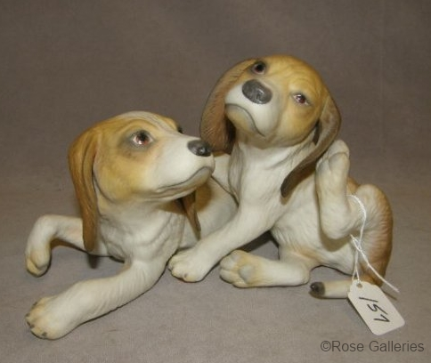 BEAGLE PUPS BRANIGAN AND CLANCY by Cybis