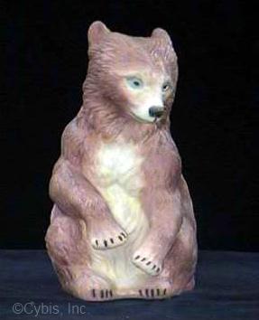 BEAR CUB SITTING by Cybis