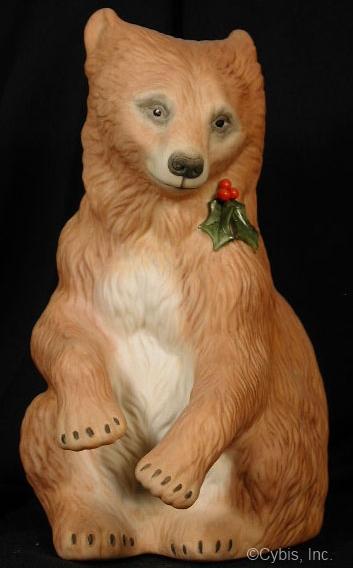 BEAR CUB WITH HOLLY by Cybis