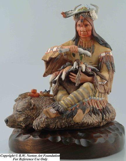 Blackfeet BEAVERHEAD MEDICINE MAN by Cybis