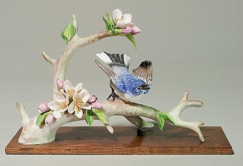 BLUE GRAY GNATCATCHERS female by Cybis