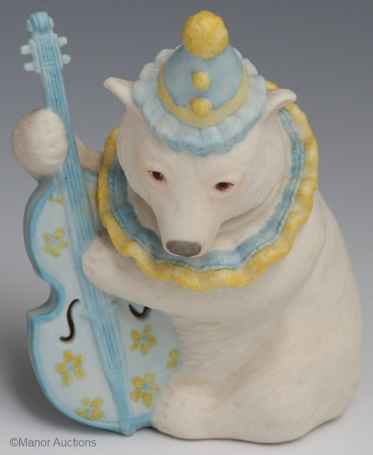 BOBO THE MUSICAL BEAR by Cybis