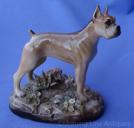 BOXER dog ca 1950s by Cybis