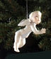 BOY or GIRL CHERUB ORNAMENT by Cybis