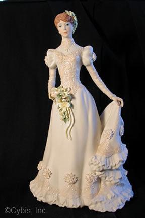 Bride Commemorative redhead by Cybis