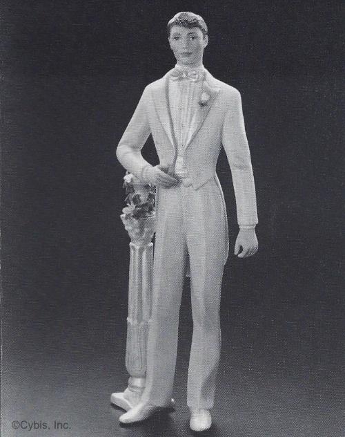 Bridegroom with Plinth 50th Anniv version by Cybis