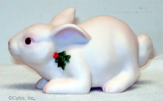 BUNNY BUNNYKINS WITH HOLLY by Cybis