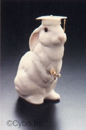 BUNNY GRAD FEMALE with white cap by Cybis