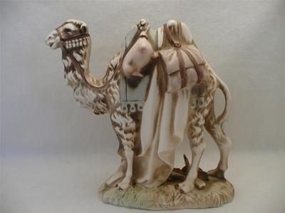CAMEL in color from original 1950s NATIVITY set by Cybis