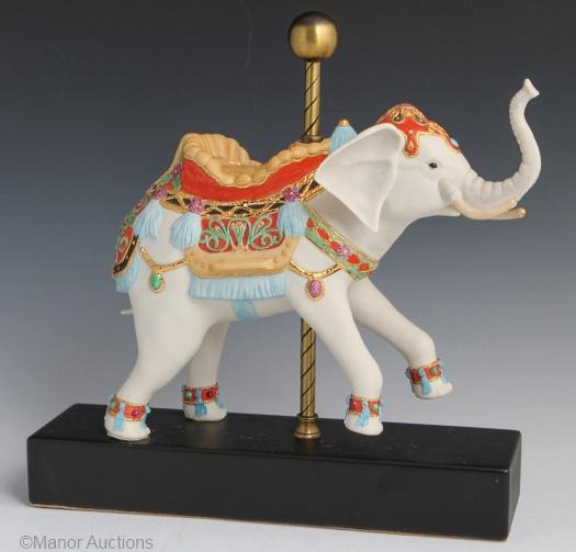 CAROUSEL ELEPHANT JUMBO by Cybis