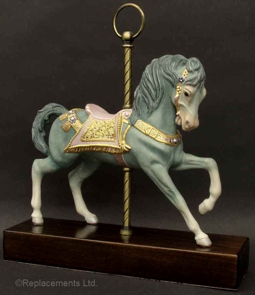 CAROUSEL HORSE by Cybis