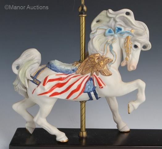 CAROUSEL HORSE TICONDEROGA by Cybis