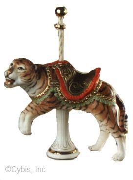CAROUSEL II TIGER by Cybis
