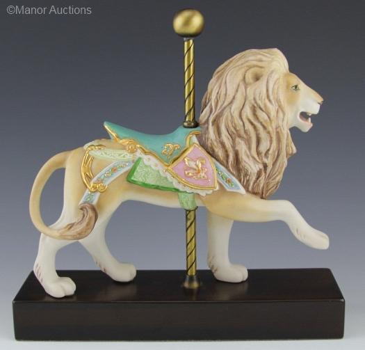 CAROUSEL LION by Cybis