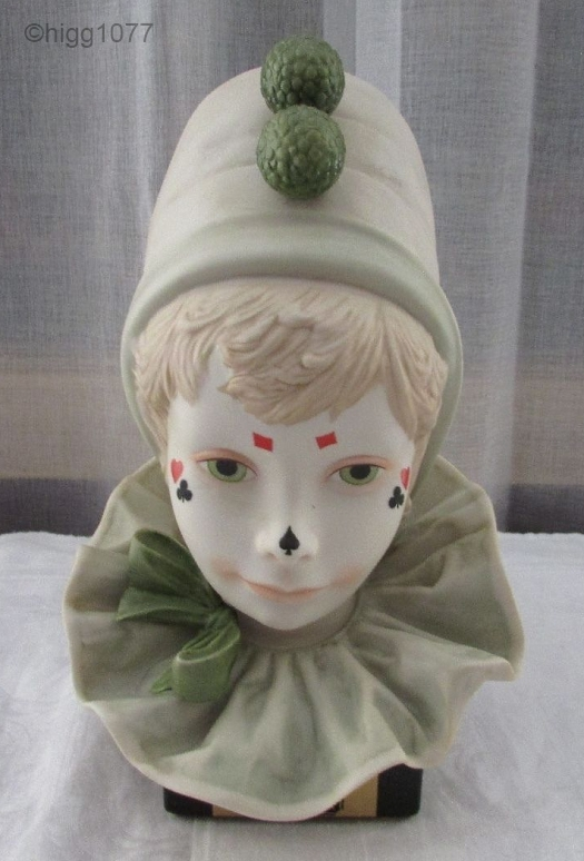 CHILD CLOWN HEAD LUCKY special edition by Cybis