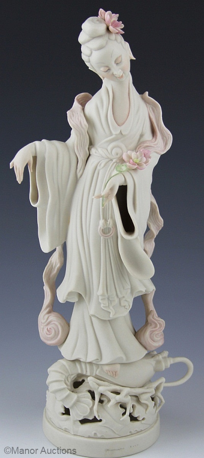 CHINESE GODDESS KWAN YIN by Cybis