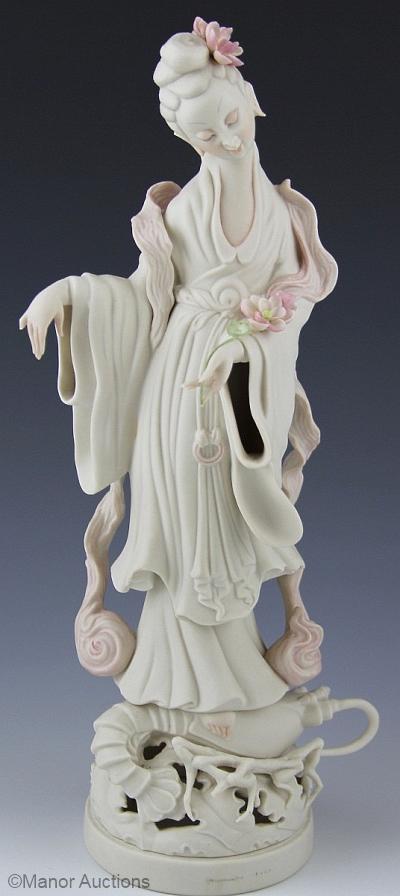 CHINESE GODDESS KWAN YIN by Cybis