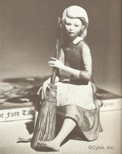 Cinderella with patterned apron in original catalog