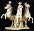 CIRCUS HORSE TRIO SHOWTIME by Cybis