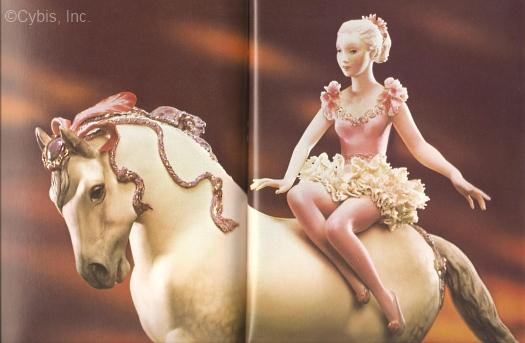 Circus Rider detail by Cybis