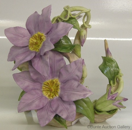 CLEMATIS in mauve by Cybis