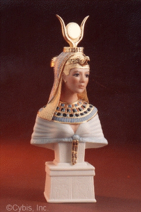 CLEOPATRA BUST by Cybis