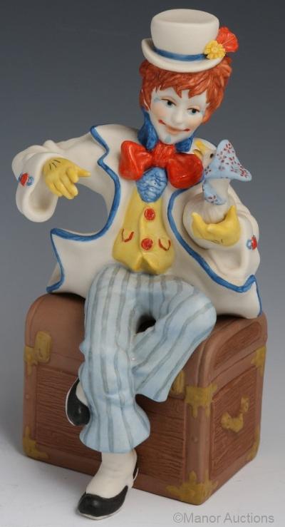 clown JUMBLES AND FRIEND by Cybis