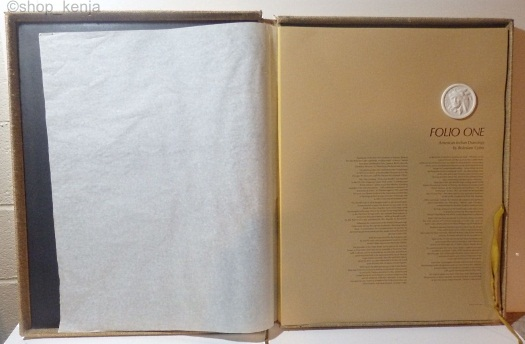 Cybis Folio One facing page with medallion
