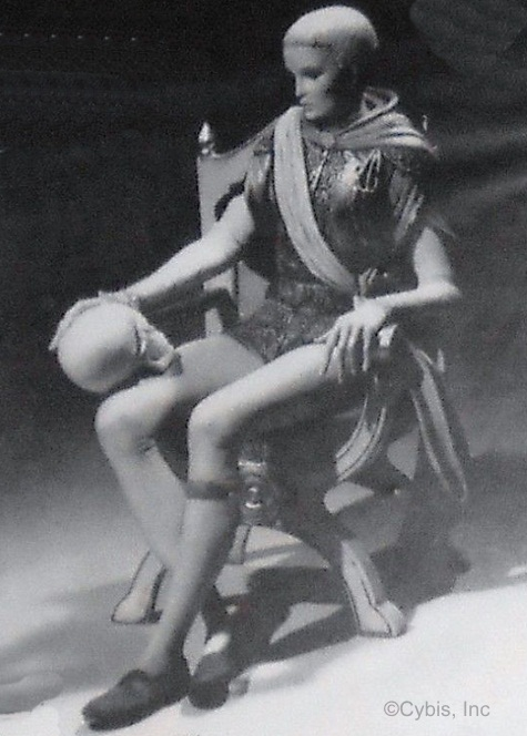 Cybis Hamlet original advertising photo
