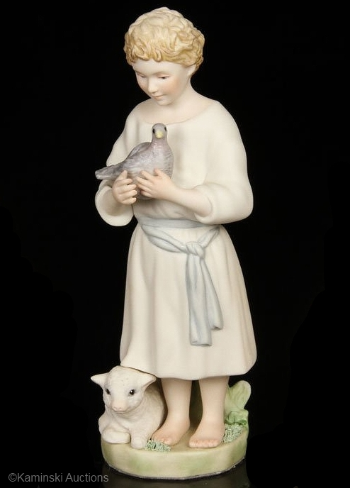 DAVID SHEPHERD BOY by Cybis