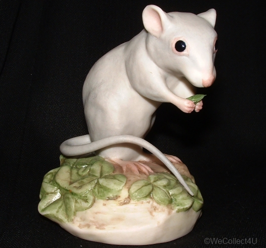 DEER MOUSE IN CLOVER by Cybis