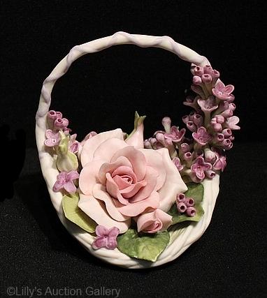 DEVOTION flower basket by Cybis